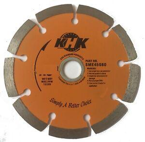 2-Pack 6-Inch Premium Segmented Diamond Blade Cutting Concrete, Bricks, Stone