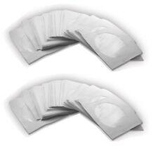100 PAPIERHÜLLEN CD DVD BLURAY HÜLLE SLEEVES 1FACH PAPIER HÜLLEN BOX MIT LASCHE