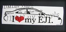 I love my Ej1 92-95 Sticker decal JDM Honda Civic eg