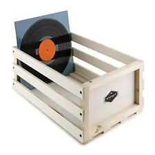 vinyl schallplatten regale aus holz ebay. Black Bedroom Furniture Sets. Home Design Ideas