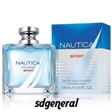 NAUTICA VOYAGE SPORT for men 3.3 / 3.4 oz EDT Cologne New in Box