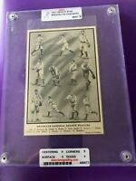 1911 Reach Vintage T-206 Era Slabbed/Graded Mint 9 Brooklyn Dodgers