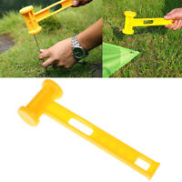 1PC Outdoor Awning Canopy Tent Peg Plastic Hammer Nail Stake Extractor Pul zcJSE