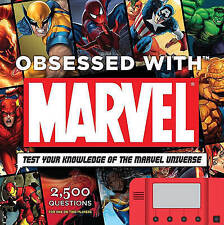 NEW Obsessed With Marvel by Peter Sanderson