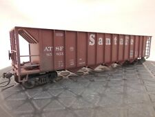 HO SCALE ROUNDHOUSE SANTA FE 85851 5-BAY RAPID DISCHARGE HOPPER WEATHERED (2/2)
