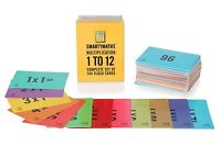 Times Table Flash Cards Set of 144 Practice learning Educational Multiplication