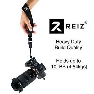 CAMERA HAND WRIST STRAP FOR DSLR, MIRRORLESS, POINT & SHOOT, ACTION CAM BY REIZ