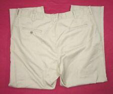 EWC Khaki Work Pants Mens 42x30 (hemmed)  65% poly 35% cotton