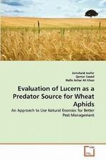 Evaluation Of Lucern As A Predator Source For Wheat Aphids: An Approach To Us.