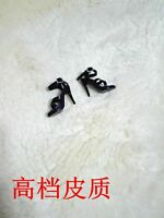 1/6th Black Sandals High-heel Shoes Model For  Female Phicen TBLeagure Figure