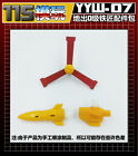 TRANSFORMERS 115 Studio YYW-07 upgrade KIT FOR Earthrise Deluxe IRONWORKS