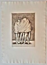 Siegfried Neuenhausen Original-Radierung,  signiert, limitiert und datiert