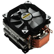 SNOWMAN M-T6 4PIN CPU Cooler Master 6 Heatpipe Double Fans 12cm Cooling Fa G0P9