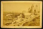 Photo c1880 Le quai/bassin port de la Joliette Marseille Photographie ancienne