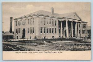 Postcard WV West Virginia Shepherdstown Shepherd College State Normal School A39