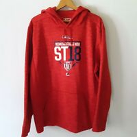 Majestic Mens XL McGee 51 St Louis Cardinals Red Spring Training 2018 Hoodie