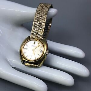 Waltham Self Winding Watch with Date Function Incabloc 25 Jewels Swiss Movement