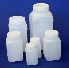 Reagenzflaschen aus PE, quadratischer, in Sets, Vol. 100ml/ 250ml/ 500ml/ 1000ml