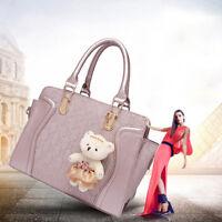 4pcs Set Women Fashion Synthetic Leather Handbags+Shoulder Bag+Purse+Card Holder