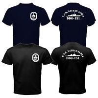 New The Last Ship USS Nathan James DDG-151 US Navy Seal TV Series T-shirt Tee