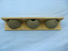 3 x  Mehlschwalbennest, Schwalbennest aus Holzbeton, Vogelhaus, Nistkasten, Nest