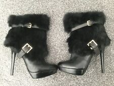 Unwanted Gift Michael Kors boots leather black size 6.5 platform Bnwot.