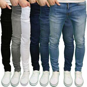 526Jeanswear 'SENJO' Mens Stretch Super Skinny Fit Jeans, BNWT
