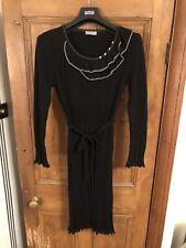 Ladies Per Una Black Dress Size UK 16L