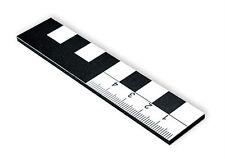 10 cm Fotomaßstab im 3er-Pack Dibond stabil wetterfest Lineal Zollstock cm dm mm