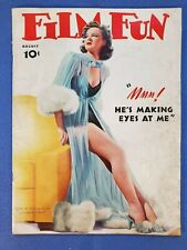Vintage January 1940 Film Fun Magazine, Enoch Bolles Cover