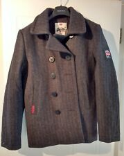 Brand New Superdry Men's Military Peacoat Dark Grey Large with tags