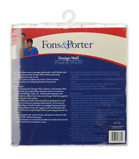 Fons and Porter Instant Design Wall. Quilting Sewing 60 x 72 In