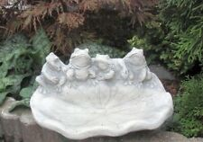 Steinfigur Ente Vögel Teichdeko Tierfigur Gartenfigur Skulptur Stein frostfest