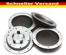 4x Außen 147 mm Innen 58 mm Nabenkappen Felgendeckel Radnabendeckel für Audi