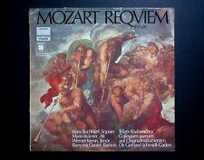 Wolfgang Amadeus Mozart Requiem Quadraphonic Lp Harmonia Mundi German Press NM-