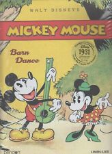 Walt Disney's Mickey Mouse Vintage Collection Linen-Like Bendon (2 books)