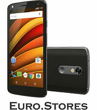 Motorola Moto X Force 32GB Black Smartphone Android 21MP AMOLED 3GB RAM Genuine