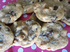 4 Dozen!!  Homemade Chocolate Chip Reese's Peanut butter Morsel Cookies+Gift Box