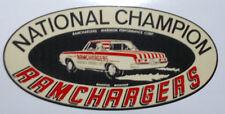 Aufkleber / Sticker National Champion  -  Oldschool/Retro/Hot Rod/Rockabilly
