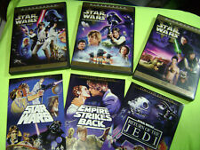 LIMITED EDITION Star Wars IV V VI  DVD LOT SAGA THEATRICAL VERS 4-6