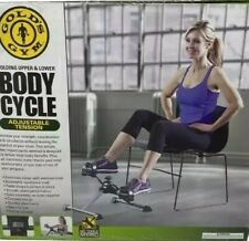 Gold's Gym Stamina Mini Stationery Cycle Pedals Exercise Machine Looks New!