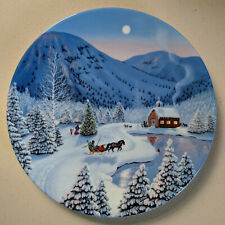 Bradford Exchange- The Spirit of Christmas collector plates (6) by Jean Sias