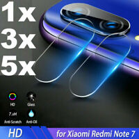 For Xiaomi Redmi Note 7 /Pro Back Lens Tempered Glass Film Camera Protector Film