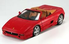 1:18 HOT WHEELS FERRARI f355 SPIDER RED