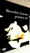 BEVERLEY CRAVEN: PROMISE ME (SHEET MUSIC)