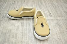 **Polo Ralph Lauren Bal Harbour II Sneaker, Toddler Boy's Size 5.5, Khaki NEW