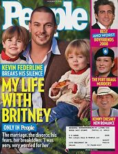 KEVIN FEDERLINE MY LIFE WITH BRITNEY SPEARS People Magazine December 15, 2008