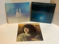 Andreas Vollenweider 3 Vinyl LP Lot White Winds Down To The Moon Behind Gardens