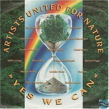 """ARTISTS UNITED FOR NATURE YES WE CAN / NATURE SOUNDS germany 7"""" 45T 112 764-100"""