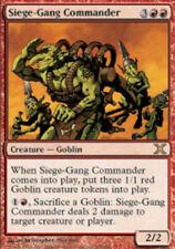 [1x] Siege-Gang Commander [x1] Tenth Edition Near Mint, English -BFG- MTG Magic